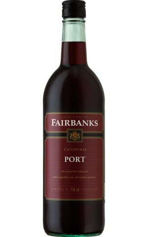 Fairbanks California Port ABV: 18%  750ml