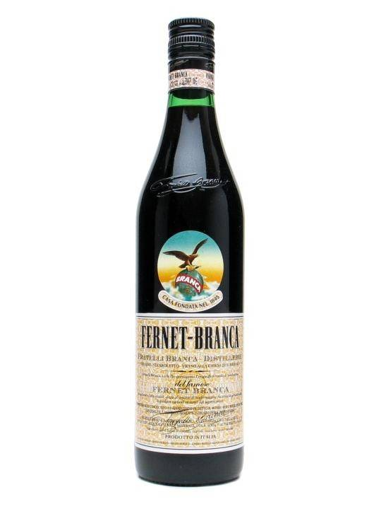 Fernet Branca Liqueur Proof: 78  50 mL