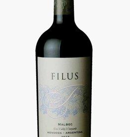Filus Mendoza Malbec 2015 ABV: 14.5%  750 mL
