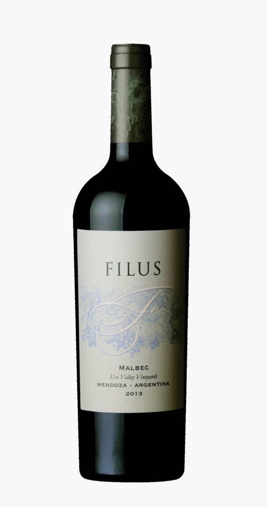 Filus Mendoza Malbec 2018 ABV: 14.5%  750 mL