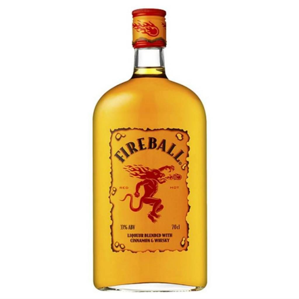 Fireball Cinnamon Whisky Proof: 66  375 mL