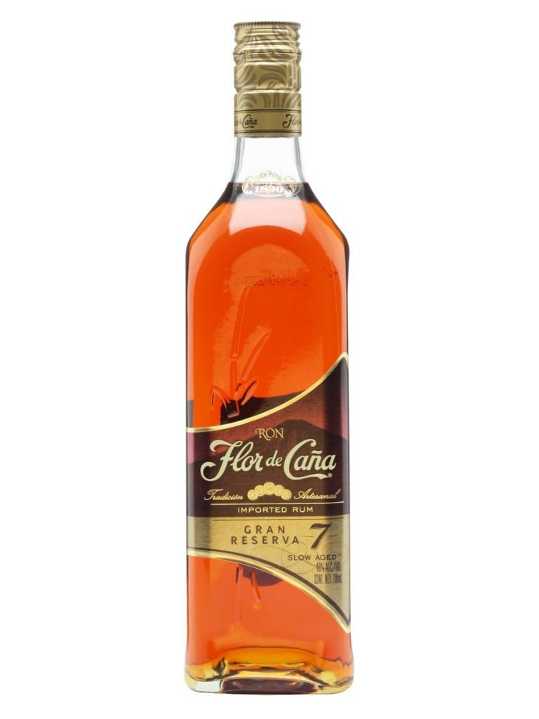 Flor de Cana Gran Reserva 7 Years Proof: 80 750 ML