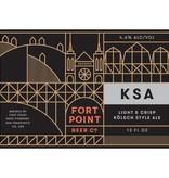 Fort Point Beer Co. KSA ABV: 4.6%  6 Pack