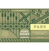 Fort Point Beer Co.  Park ABV: 4.7%  6 Pack