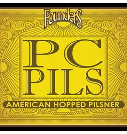 Founders PC Pils Pilsner ABV: 5.5%  6 pack