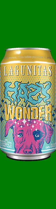 Lagunitas Brewing Co. Hazy Wonder ABV: 6%  6 Pack Can
