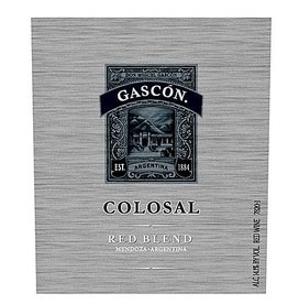 Don Miguel Gascon Colosal Red Blend 2013 ABV: 13.5%  750 mL