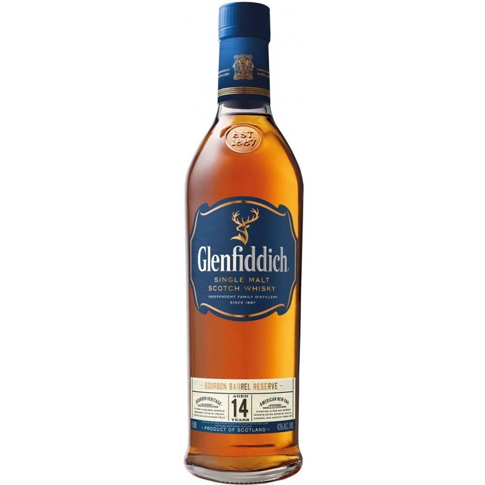 Glenfiddich 14 Years Single Malt Scotch Whisky Proof: 86  750 Ml