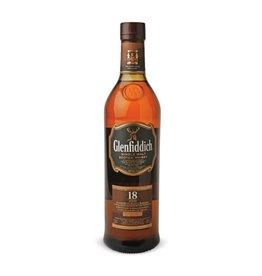 Glenfiddich 18 Years Single Malt Scotch Whisky Proof: 86  750 mL