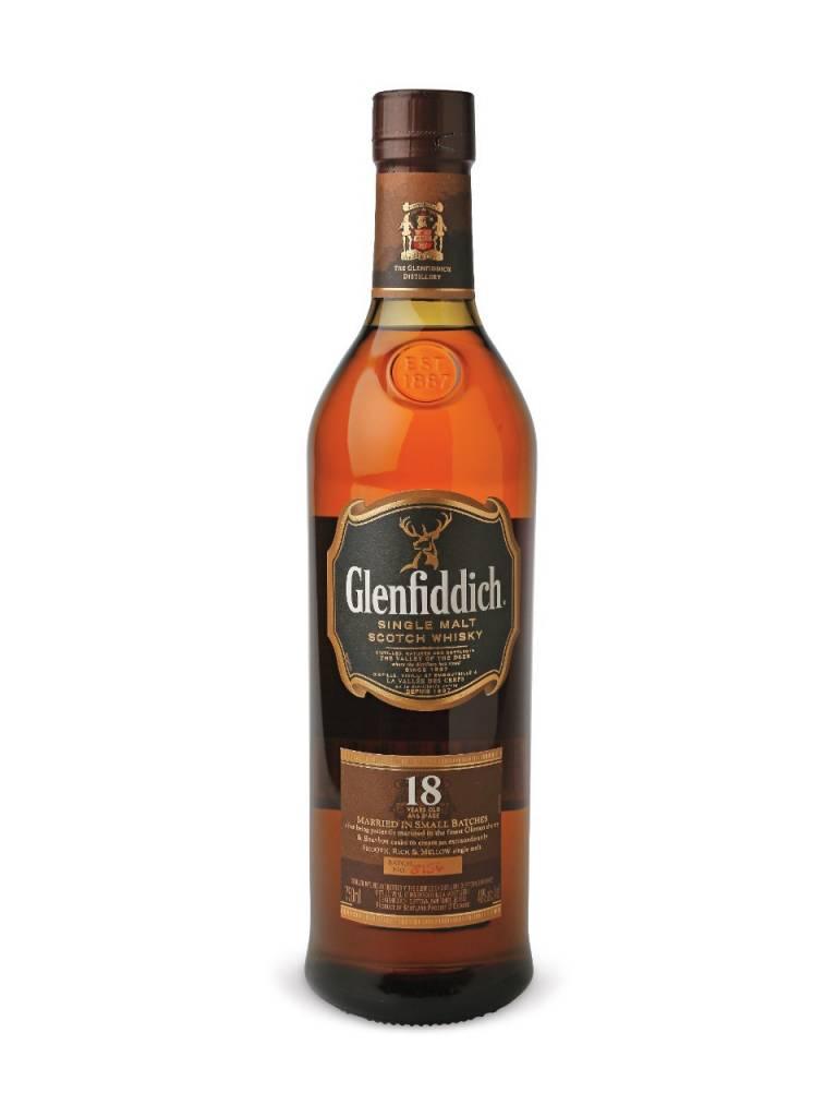 Glenfiddich 18 Years Single Malt Scotch Whisky Proof: 80 750 mL