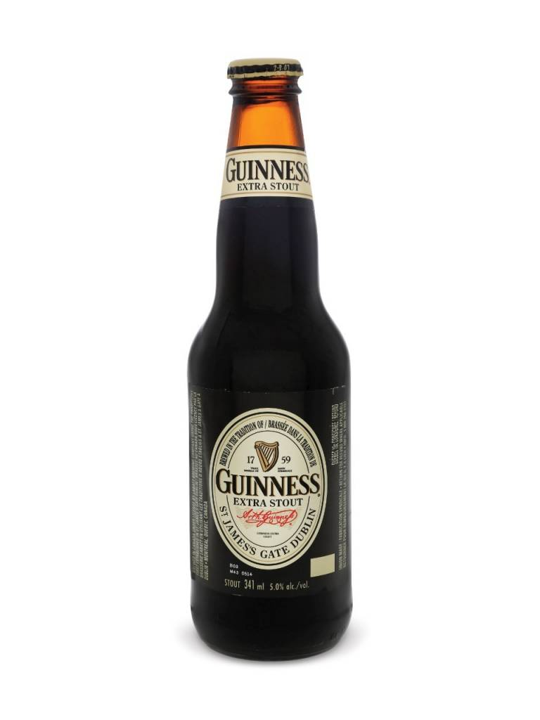 Guinness Extra Stout ABV: 6%  6 Pack