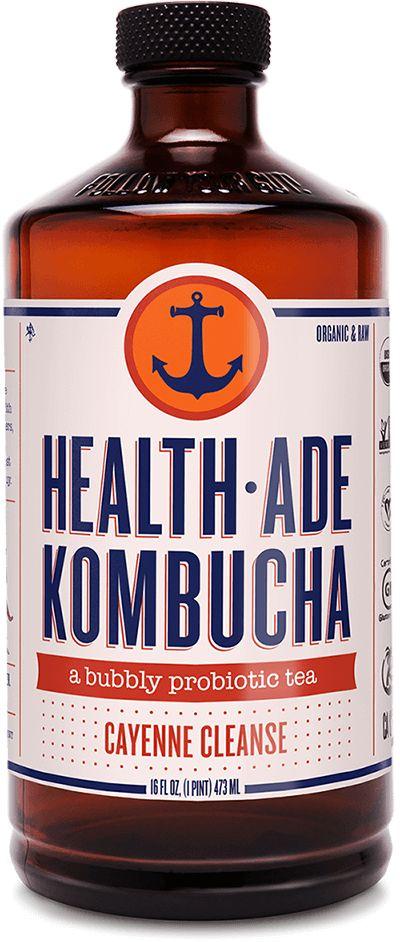 Health Ade Kombucha Cayenne Cleanse