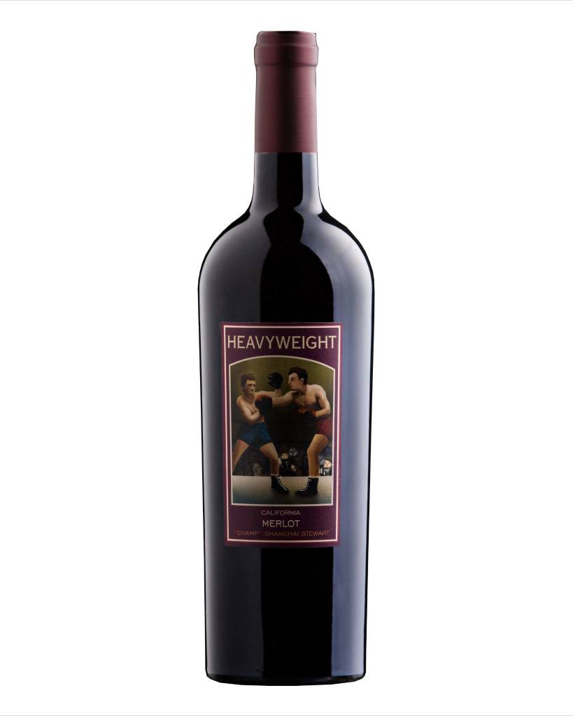 Heavyweight Merlot ABV: 13%  750 mL