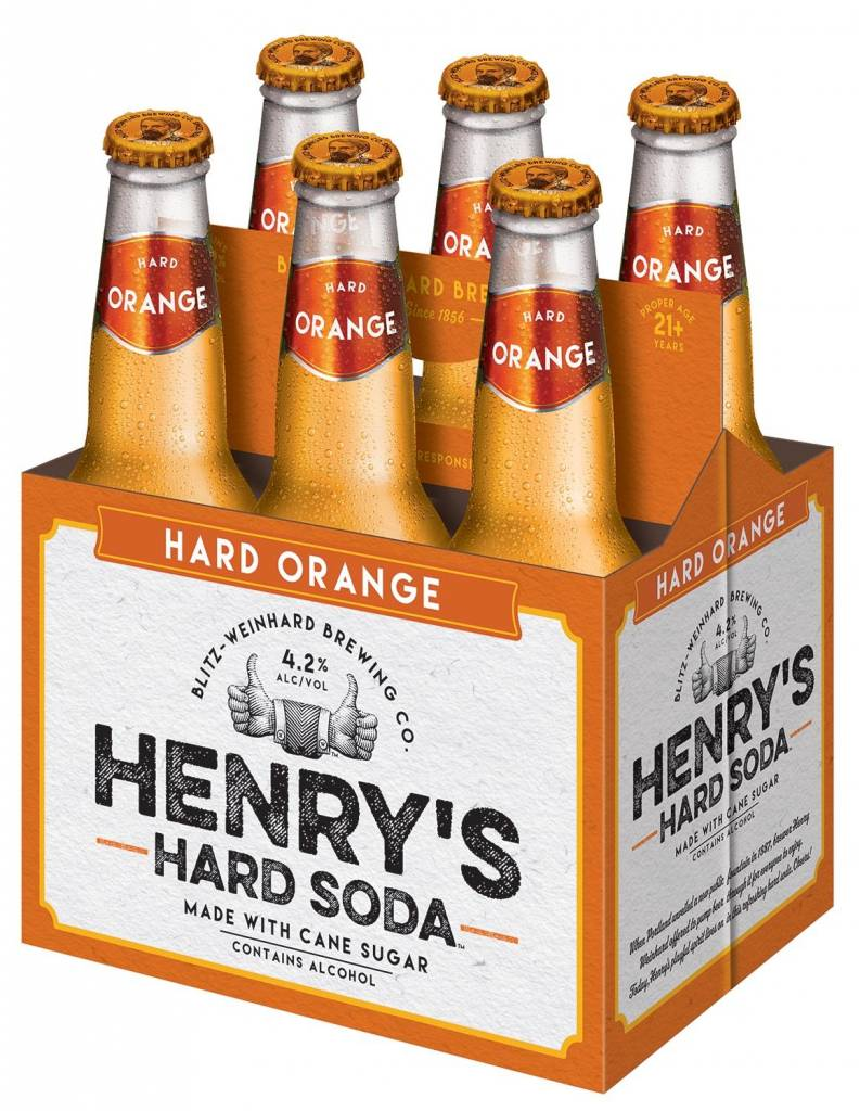 Henry's Hard Orange 4 Pack