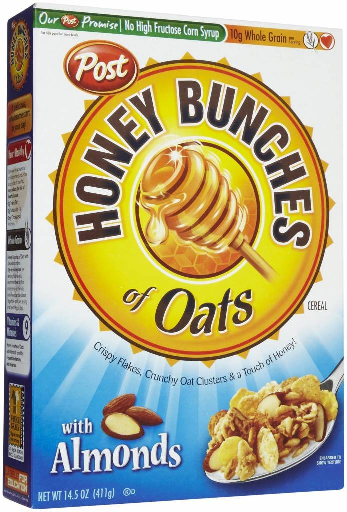 Honey Bunches of Oats with Almonds Cereal 14.5 oz