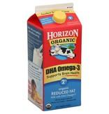 Horizon Organic 2% Reduced Fat Milk 1/2 Gal