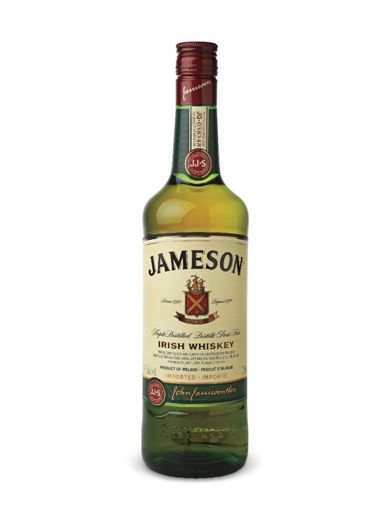 Jameson Irish Whiskey Proof: 80  200 mL