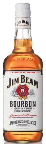 Jim Beam Bourbon Proof: 80  375 mL