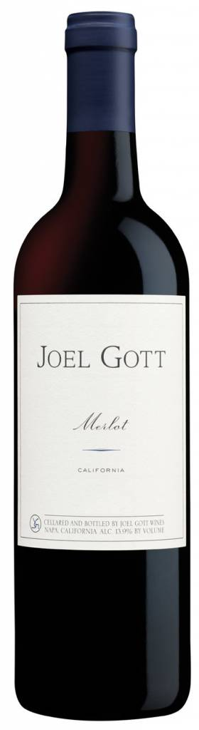 Joel Gott Merlot 2015 ABV: 13.9%  750 mL