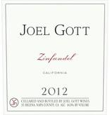 Joel Gott Zinfandel 2015 ABV: 14.1%  750 mL