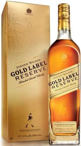 Johnnie Walker Gold Label Reserve Blended Scotch Whisky Proof: 80 750 ML
