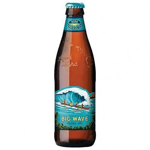 Kona Brewing Co. Big Wave Golden Ale ABV: 4.4%  6 Pack