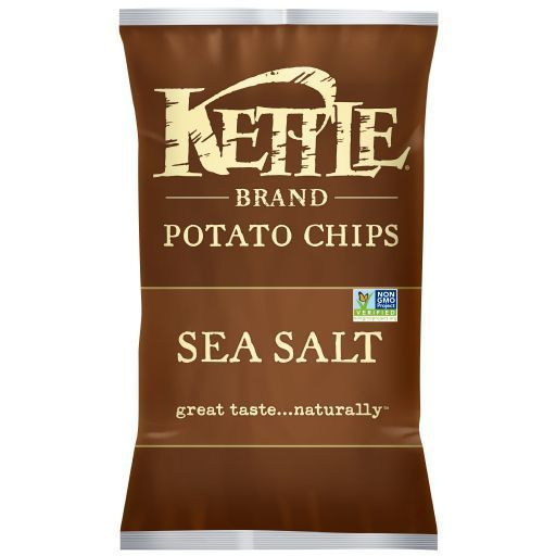 Kettle Brand Potato Chips Sea Salt 2 OZ