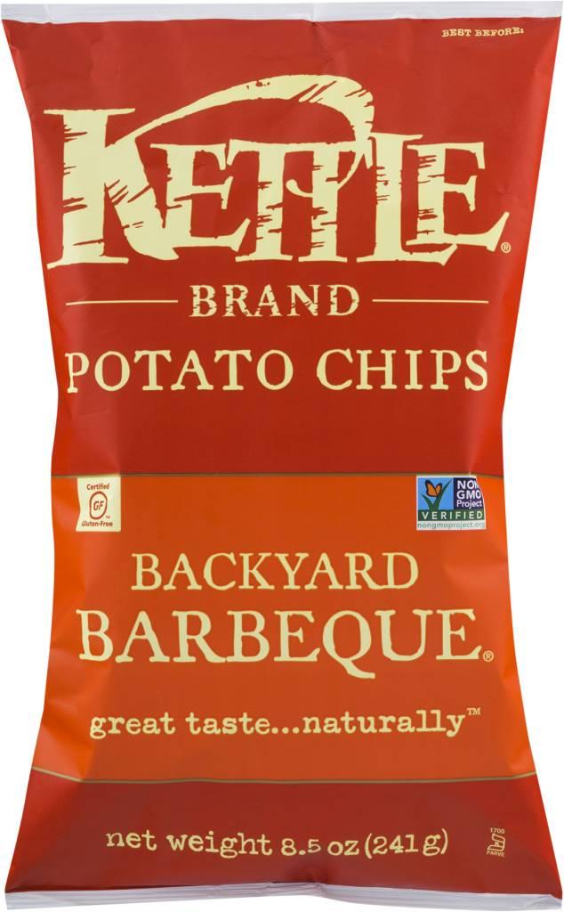 Kettle Brand Potato Chips Backyard BBQ 2 OZ