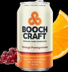 Boochcraft Kombucha Orange Pomegranate ABV 7% 6 Pack