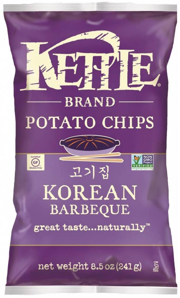 Kettle Brand Potato Chips Korean Barbeque 5 OZ