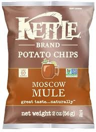 Kettle Brand Potato Chips Moscow Mule 5 OZ