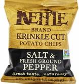 Kettle Brand Potato Chips Salt & pepper 5 OZ