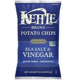 Kettle Brand Potato Chips Sea Salt & Vinegar 2 OZ