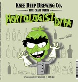 Knee Deep Brewing Co. Hoptologist DIPA ABV: 9%  22 oz