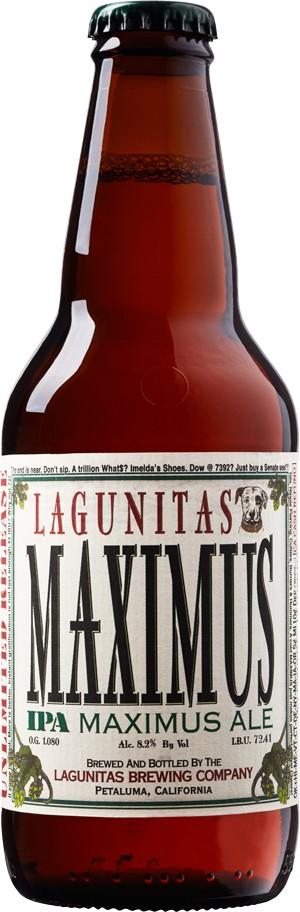 Lagunitas Brewing Co. Maximus IPA ABV: 8.2%  22 OZ