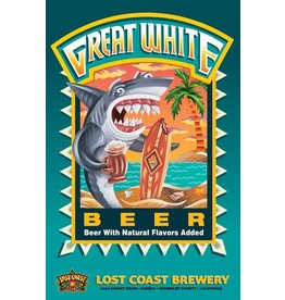 Lost Coast Brewery Great White ABV: 4.8%  6 Pack