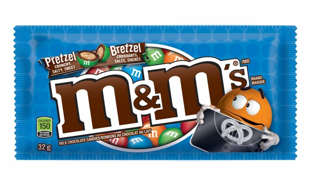 M&M's Pretzel Candy 1.14 OZ