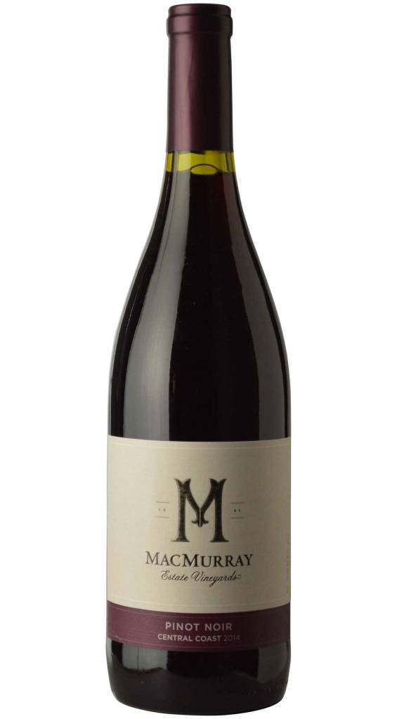 MacMurray Pinot Noir 2014 ABV: 14.5%  750 mL