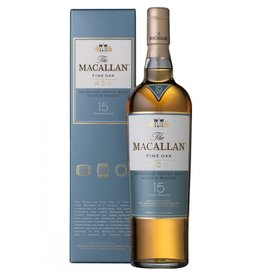 The Macallan Single Malt Scotch Whisky 15 Years Old Fine Oak Proof: 80  750 mL