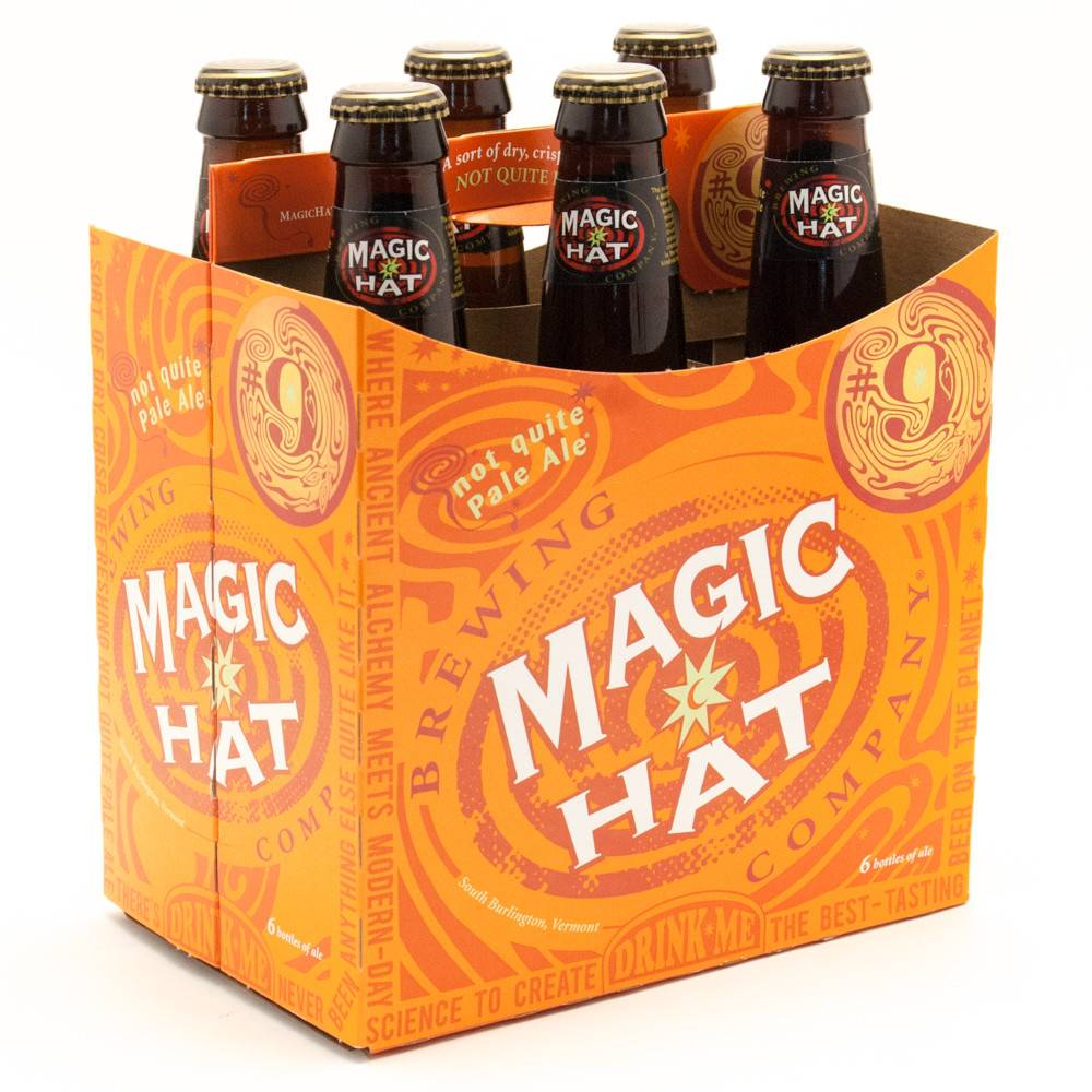 Magic Hat 9 Pale Ale ABV 51 6 Pack