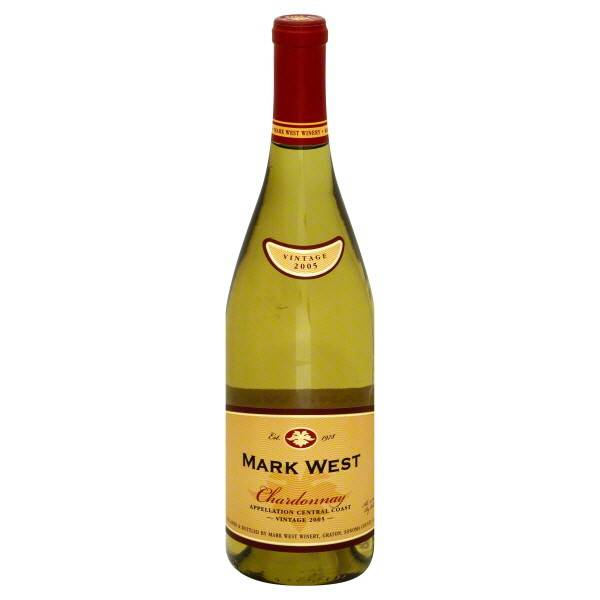 Mark West Chardonnay 2015 ABV: 14%  750ml