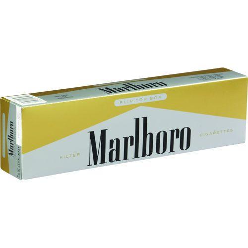 Marlboro 72's Gold Box Cigarettes