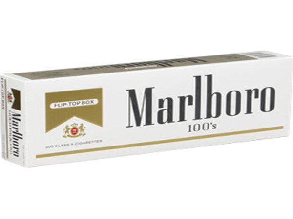 Marlboro Gold 100's Cigarettes