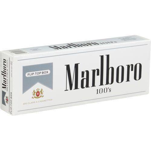 Marlboro Silver 100's Cigarettes