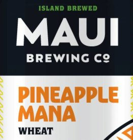 Maui Brewing Co. Pineapple Mana Wheat ABV: 5.5% 6 Pack