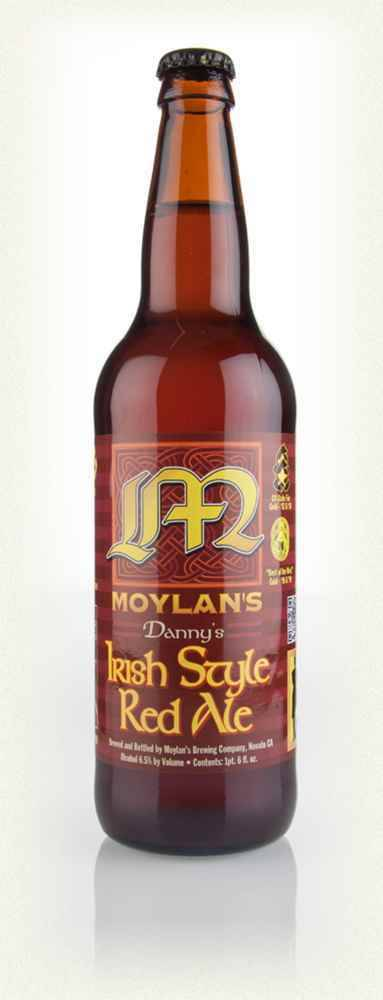 Moylan's Danny's Irish Style Red Ale abv: 6.5%