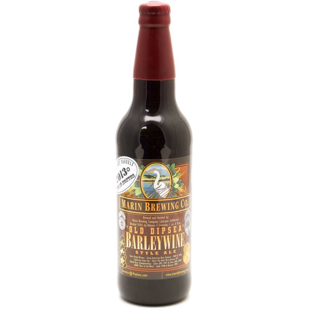 Marin Brewing Co. Old Dipsea Barleywine Style Ale ABV: 9.6%