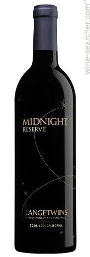 LangeTwins Midnight Reserve ABV: 13.9%  750ml