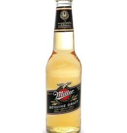 Miller Genuine Draft  ABV: 4.2%  6 Pack Bottles