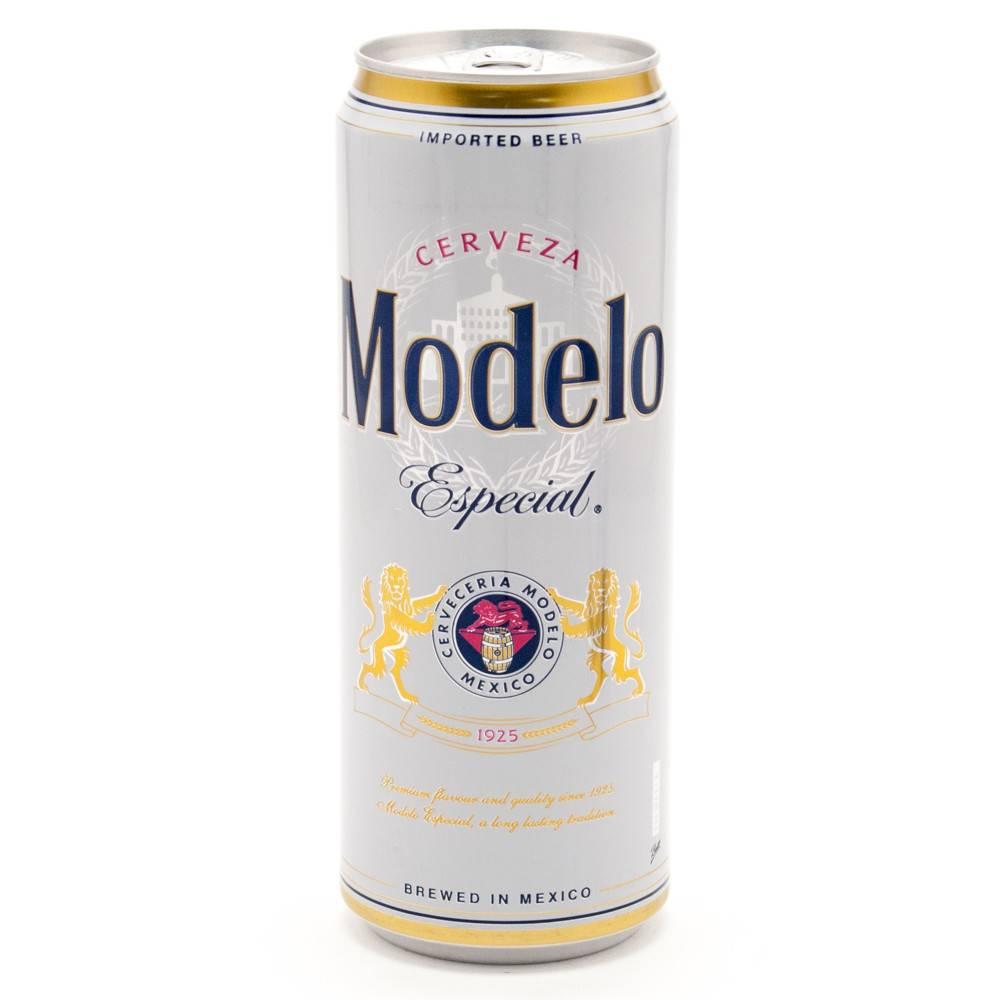 Modelo Especial ABV: 4.4%  24 OZ Can